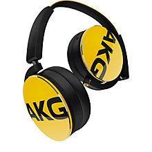 Buy AKG Y50 Closed-Back On-Ear Headphones with Microphone Online at johnlewis.com