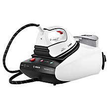 Buy Bosch TDS3511GB Steam Generator Iron, White/Black Online at johnlewis.com