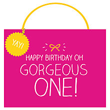Buy Happy Jackson Gorgeous One Gift Bag Online at johnlewis.com