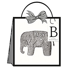 Buy Alice Scott Baby Elephant Gift Bag, Small Online at johnlewis.com