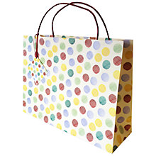 Buy Emma Bridgewater Polka Hatch Shopper Gift Bag Online at johnlewis.com