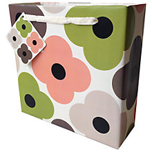 Buy Orla Kiely Summer Flower Gift Bag, Medium Online at johnlewis.com