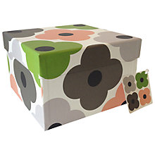 Buy Orla Kiely Summer Flower Gift Box, Large Online at johnlewis.com