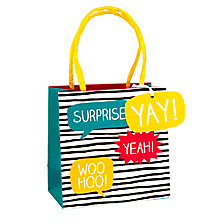 Buy Happy Jackson Surprise Gift Bag, Small Online at johnlewis.com