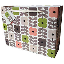 Buy Orla Kiely Summer Flower Shopper Gift Bag Online at johnlewis.com