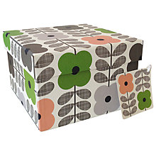 Buy Orla Kiely Summer Flower Gift Box, Medium Online at johnlewis.com