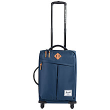 Buy Herschel Supply Co. Highland 4-Wheel 48cm Cabin Suitcase, Navy Online at johnlewis.com