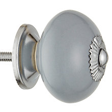 Buy John Lewis Bonbon Ceramic Round Cupboard Knob, Dia.45mm Online at johnlewis.com