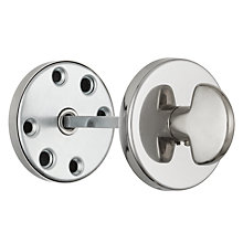 Buy John Lewis WC Door Escutcheon, Polished Nickel Online at johnlewis.com