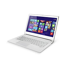"Buy Acer Aspire S7-392 Ultrabook, Intel Core i7, 8GB RAM, 256GB SSD, 13.3"" Touch Screen, White Online at johnlewis.com"