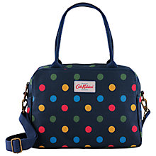 Buy Cath Kidston Button Spot Busy Bag, Navy Online at johnlewis.com