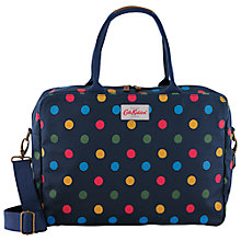 "Buy Cath Kidston Buton Spot Three Part Business Bag for Laptops up to 13"", Navy Online at johnlewis.com"
