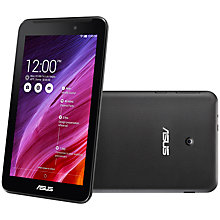 "Buy Asus MeMO Pad 7 ME170C Tablet, Intel Atom, Android, 7"", Wi-Fi, 8GB Online at johnlewis.com"