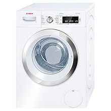 Buy Bosch Logixx WAW28560GB Washing Machine, 9kg Load, A+++ Energy Rating, 1400rpm Spin, White Online at johnlewis.com