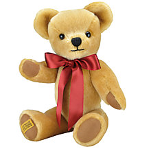 Buy Merrythought London Gold Musical Movement Bear, Gold Online at johnlewis.com