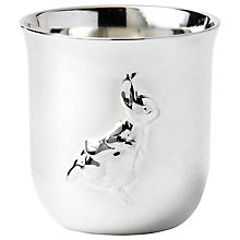 Buy Wedgwood Peter Rabbit Egg Cup and Spoon, Silver Online at johnlewis.com