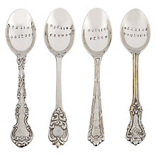 Buy Culinary Concepts Morning Dessert Spoons, Assorted, Set of 4 Online at johnlewis.com