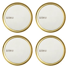 Buy John Lewis Spirit Pewter Coasters, Set of 4 Online at johnlewis.com