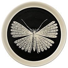 Buy Day Birger et Mikkelsen Black Moth Plate, Dia.20cm Online at johnlewis.com