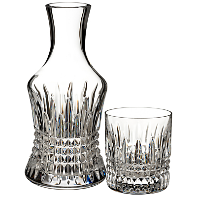 Waterford Lismore Diamond Carafe and Glass