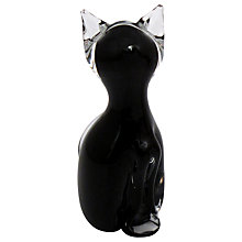 Buy Svaja Katie Kitten Ornament, Black Online at johnlewis.com