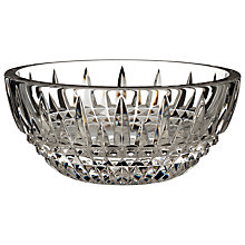 Buy Waterford Lismore Diamond Ring Bowl Online at johnlewis.com