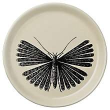Buy Day Birger et Mikkelsen White Moth Plate, Dia.14.5cm Online at johnlewis.com