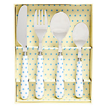 Buy Martin Gulliver Blue Star Cutlery Set Online at johnlewis.com