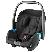 Buy Recaro Privia Group 0+ Baby Car Seat, Black Online at johnlewis.com