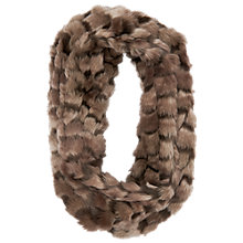 Buy Phase Eight Riley Snood, Mink Online at johnlewis.com