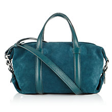 Buy Jigsaw Mini Suede Bowling Bag Online at johnlewis.com