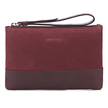 Buy Jigsaw Two Tone Leather Bag Online at johnlewis.com