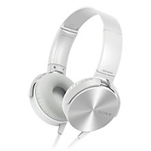 Buy Sony XB450AP On-Ear Headphones, Mic/Remote Online at johnlewis.com
