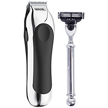 Buy Wahl Shave and Trim Set, Silver Online at johnlewis.com