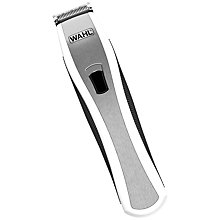 Buy Wahl Lithium Pro Stubble Trimmer, White/Silver Online at johnlewis.com