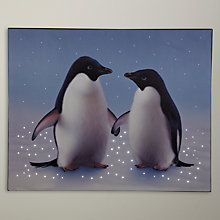 Buy John Lewis Monty & Mabel Lit Canvas Online at johnlewis.com
