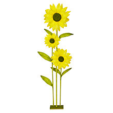 Buy John Lewis Giant Paper Sunflowers, H180cm Online at johnlewis.com