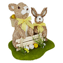 Buy John Lewis Rabbit and Fence Room Decoration Online at johnlewis.com