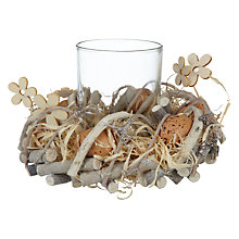Buy John Lewis Nest Tealight Holder Online at johnlewis.com