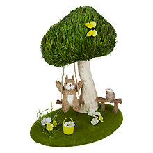 Buy John Lewis Rabbit On Swing Room Decoration Online at johnlewis.com