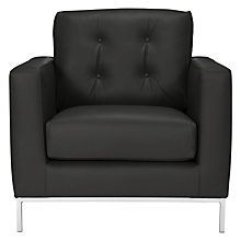 Buy John Lewis Odyssey Leather Look Chair Online at johnlewis.com
