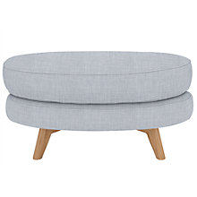 Buy John Lewis Barbican Footstool, Fraser Duck Egg Online at johnlewis.com