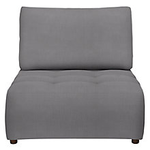 Buy House by John Lewis Flex Chaise Sofa, Pier Steel Online at johnlewis.com