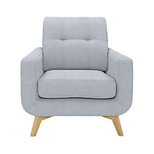 Buy John Lewis Barbican Armchair, Fraser Duck Egg Online at johnlewis.com