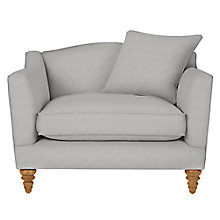 Buy John Lewis Croft Collection Melrose Snuggler, Darwen French Grey Online at johnlewis.com