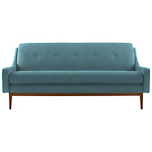Buy G Plan Vintage The Fifty Eight Large Sofa, Tonic Charcoal, Pewter Dogtooth Online at johnlewis.com