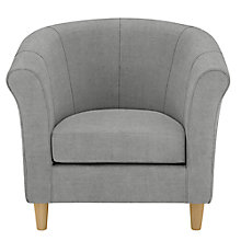 Buy John Lewis The Basics Juliet Armchair, Hayden Silver Online at johnlewis.com