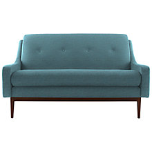 Buy G Plan Vintage The Fifty Eight Small Sofa, Tonic Charcoal, Pewter Dogtooth Online at johnlewis.com