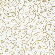 Buy John Lewis Gold Vines Fabric Online at johnlewis.com