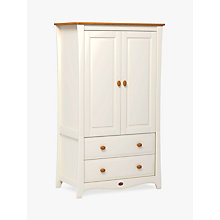 Buy Boori Provence Wardrobe, Ivory/Honey Online at johnlewis.com